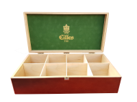 Eilles Tee Holzbox für 8 x Tea Diamond